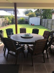 9 Piece Kwila Outdoor Dining Setting Northgate Brisbane North East Preview