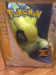 Pokemon 20th anniversary limited edition celebi plush toy Adelaide CBD Adelaide City Preview