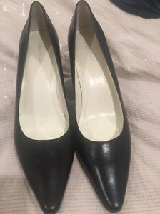 Brand new Calvin Klein black leather heels 8.5 Cronulla Sutherland Area Preview