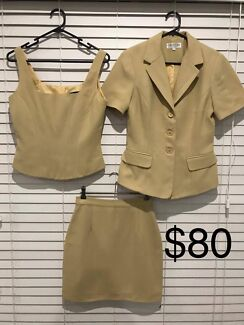 Vintage Cue Ladies Skirt Suits NEGOTIABLE