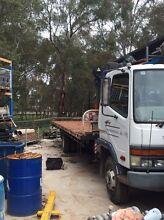 Mitsubishi FK 600 Crane Truck Hiab Herne Hill Swan Area Preview