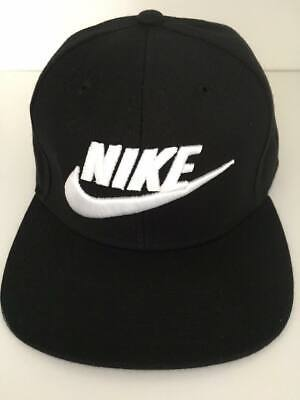 Adult Unisex Snapback Nike written  Cap .black &white .Huge Sell . Free Delivery