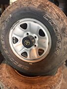 "16"" genuine toyota landcruiser 100 200 series ifs wheels rims steel Waterford Logan Area Preview"