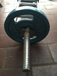 10kg Proteus weights and 5.5 foot solid bar Ainslie North Canberra Preview