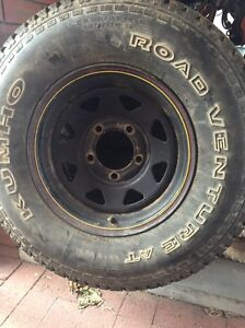 Landcruiser rims and tyres Bassendean Bassendean Area Preview