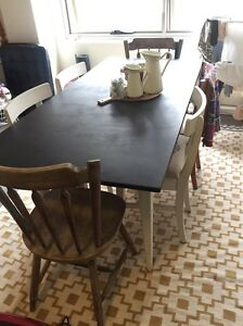Dining Table & 6 x chairs Mosman Mosman Area Preview