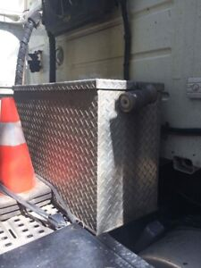 Steel box for Truck 350 Litres capacity