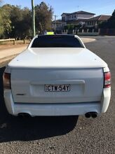 SS MANUAL UTE HOLDEN WHITE CAMMED HSV SSV CUSTOM CHEAP REGO Wattle Grove Liverpool Area Preview