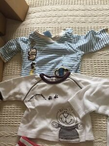 FREE baby tops and shorts bulk set. 0-3 months. Upper Coomera Gold Coast North Preview
