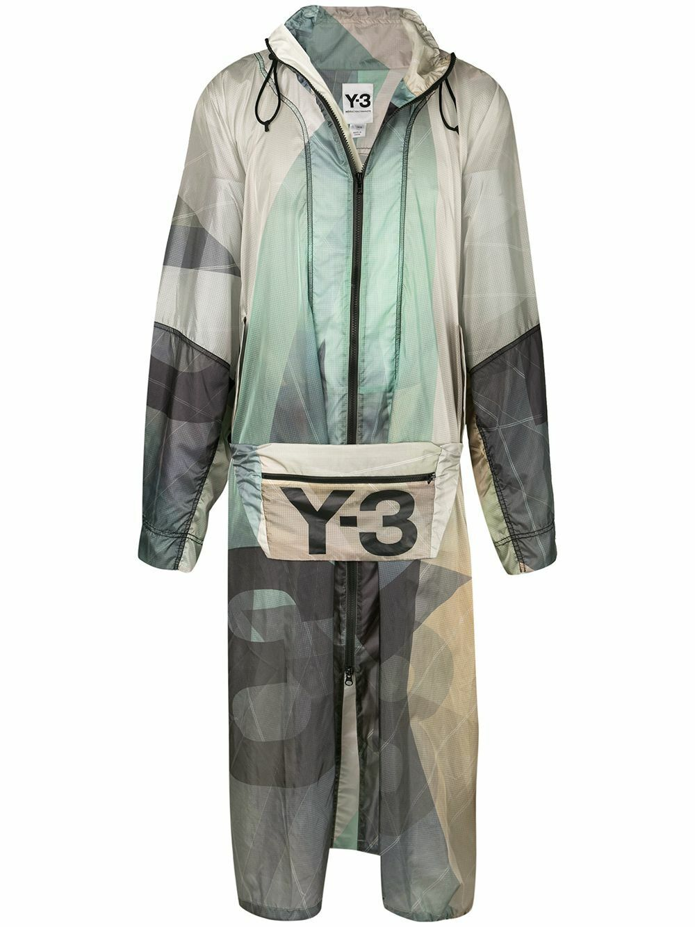 Adidas Y-3 Yohji Yamamoto Sailing Poncho Mantel Jacke Jacket DY7283 Herren Gr. M