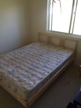Double bed frame with mattress Beenleigh Logan Area Preview