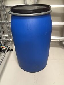 Plastic 200L, 150L and 100L drums Lynwood Canning Area Preview