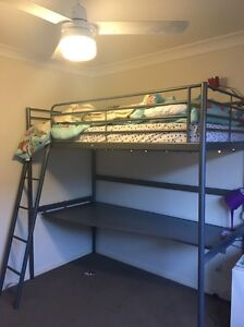 Bunk bed with desk. Wattle Grove Liverpool Area Preview