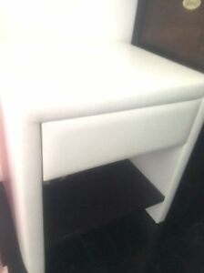 Bed side table white Coogee Eastern Suburbs Preview
