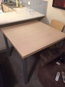 Square dining table with 4 chairs Hawthorn East Boroondara Area Preview