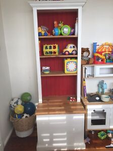 Solid pine toy box and book shelf Narraweena Manly Area Preview