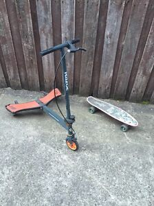 Razor wings scooter and skateboard Coburg Moreland Area Preview