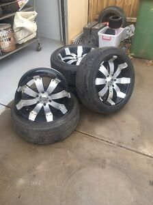 """4x4 wheels and tyres 20"""" Brookfield Melton Area Preview"""