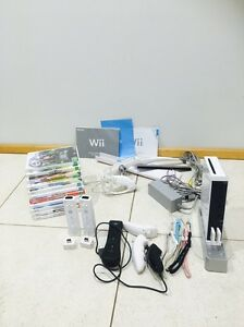 Nintendo Wii, comes with many extras & 11 games Wattle Ponds Singleton Area Preview