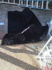 Free black shaggy rug Condell Park Bankstown Area Preview