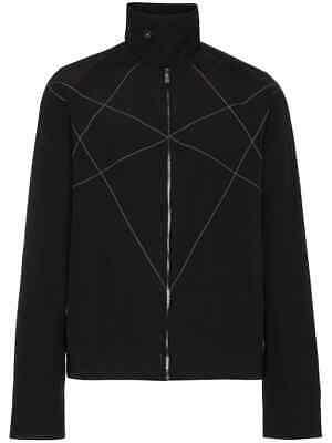 Rick Owens DRKSHDW stitch-detail high collar jacket
