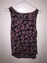 Floral paisley print colourful top silky Clifton Springs Outer Geelong Preview