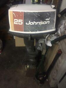 25hp  johnson outboard boat motor. Mowbray Launceston Area Preview