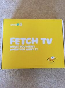 OPTUS FETCH TV - BRAND NEW !! Ascot Vale Moonee Valley Preview