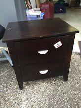 Black bedside table with drawers Coorparoo Brisbane South East Preview