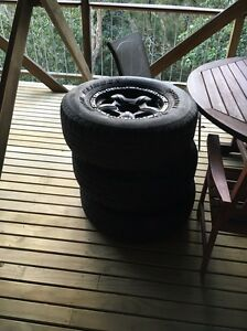 4 x265/75r16 csr rims and tyres Mona Vale Pittwater Area Preview