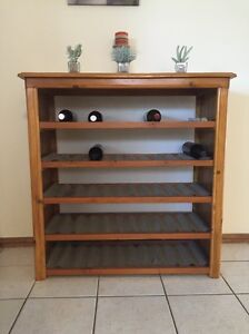 Wooden wine rack Largs Bay Port Adelaide Area Preview