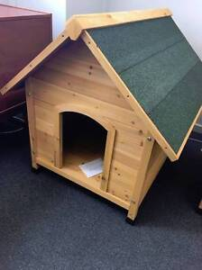 Dog Kennel New Assembled Wood Somersby Gosford Area Preview