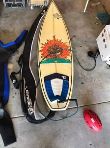 """Surfboard 6""""4 White Gum Valley Fremantle Area Preview"""