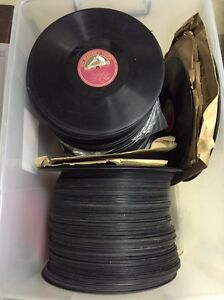 Gramophone records over 100 records vintage Berkshire Park Penrith Area Preview
