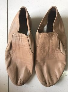 NUDE BLOCH  LEATHER JAZZ / DANCE SHOES Benowa Gold Coast City Preview