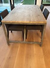 Solid wood dining table Hampton Bayside Area Preview