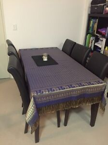 Dining table and 6 chairs. (Pick up only) Hornsby Hornsby Area Preview