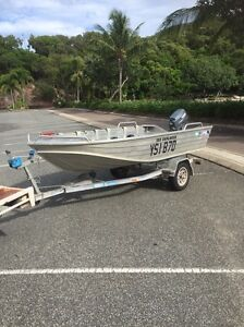 Quintrex tinny with 25hp Yamaha Airlie Beach Whitsundays Area Preview