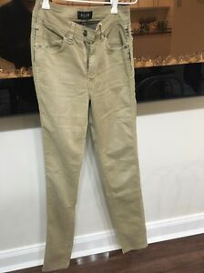 Neuw Marilyn mustard skinny leg jeans size 6 Xs Lane Cove North Lane Cove Area Preview