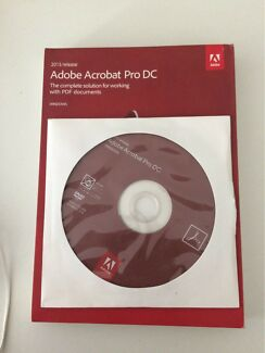 BRAND NEW IN BOX Adobe Acrobat Pro DC2015 for Windows Free Shipping!