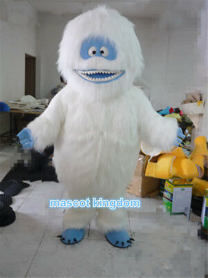 Yeti Abominable Snowman Mascot Costume Character Cosplay Party Fancy Dress Adult (Abominable Snowman Adult Costume)