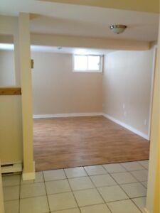 1 Bedroom Walkout Basement Apartment for Rent.