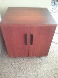 1960's base of turntable -record storage. Lane Cove North Lane Cove Area Preview