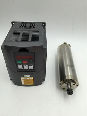 800w Water Cooled Spindle Motor 110v1.5kw Vfd Inverter For Cnc Router Engraving