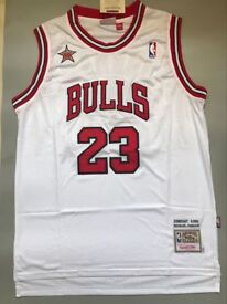 Chicago Bulls Basketball Jersey, Chicago Bulls Used Basketball Jersey