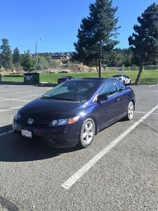 2007 Honda Civic Coupe low kms!