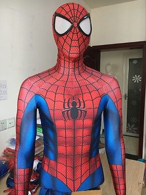 Spiderman Costume Halloween Cosplay Spider-Man Superhero Zentai Suit For Adult
