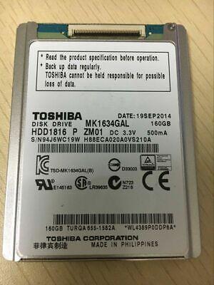 "Toshiba 160GB MK1634GAL 1.8"" ZIF Hard Disk Drive For Apple Ipod 7th Gen Classic comprar usado  Enviando para Brazil"