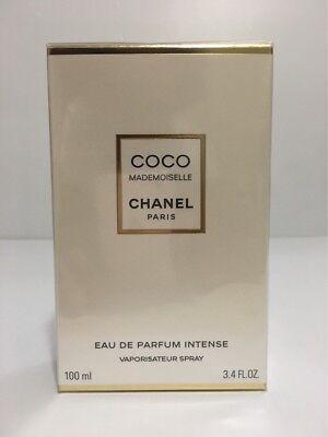 CHANEL COCO MADEMOISELLE INTENSE WOMEN PERFUME 3.4 OZ / 100 ML NEW IN SEALED BOX