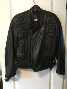 Leather Motorcycle womens jacket